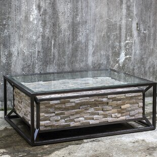 Reviews Braxten Reclaimed Teak Coffee Table by Union Rustic