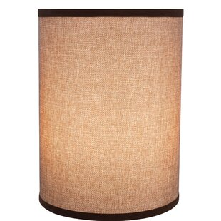 Cylinder Spider Construction 8 Linen Drum Lamp Shade