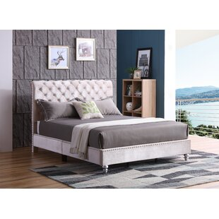 Loc Tufted Upholstered Panel Bed