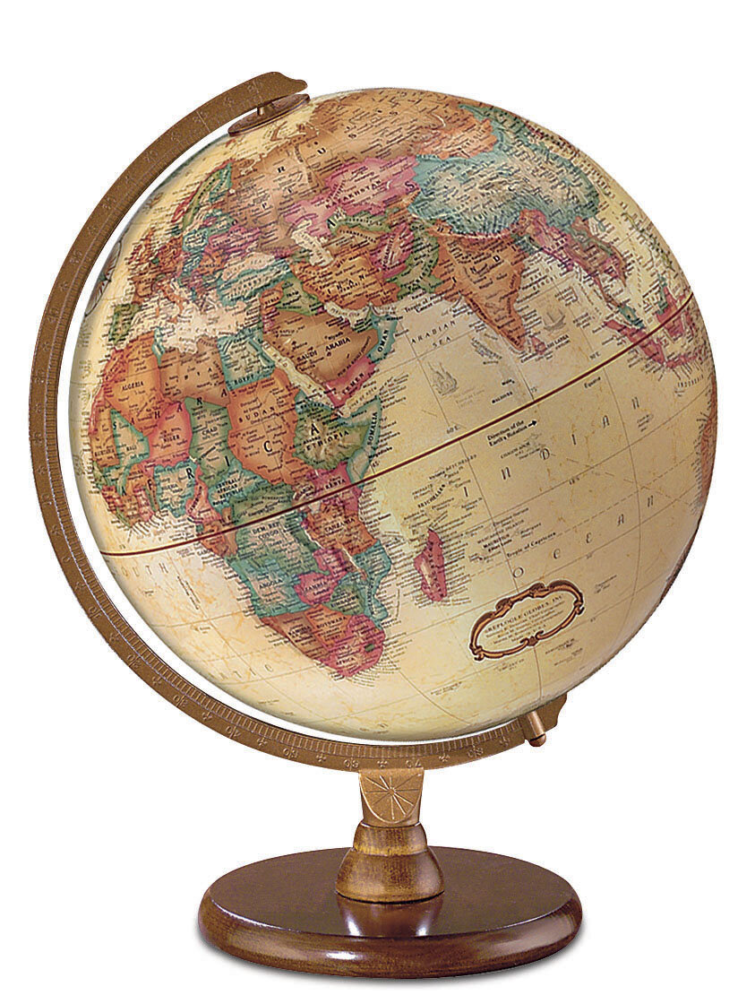 Antique French Or English World Globe