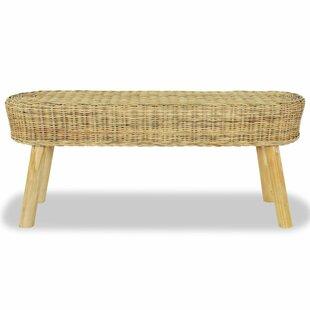 Pranav Wicker Bench By House Of Hampton