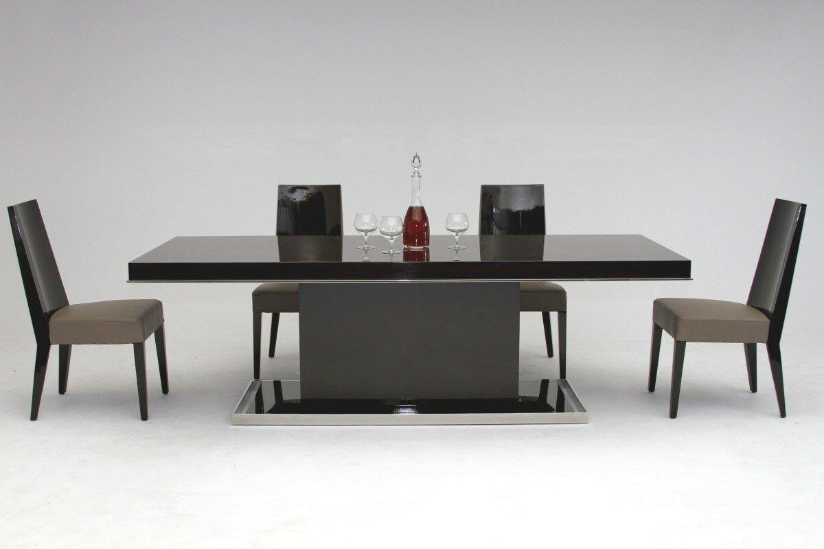 Charming Camron Modern Pedestal Base Dining Table