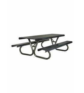 Tropitone Site Furnishings Aluminum Picnic Table