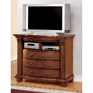 Goulet 3 Drawer Media Chest