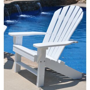 Frog Furnishings Seaside Plastic Adirondack Chair