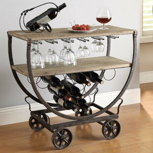 Kris 11 Bottle Floor Wine Rack by 17 Stories