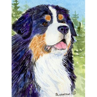 Bernese Mountain Dog 2-Sided Polyester 40 x 28 in. House Flag