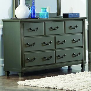 Alcott Hill Gunther 7 Drawer Standard Dresser