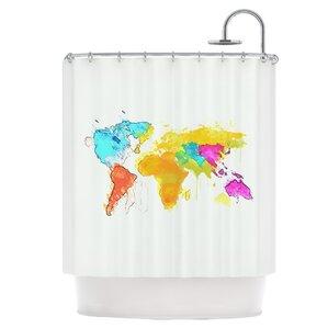 Old World Shower Curtain  Wayfair