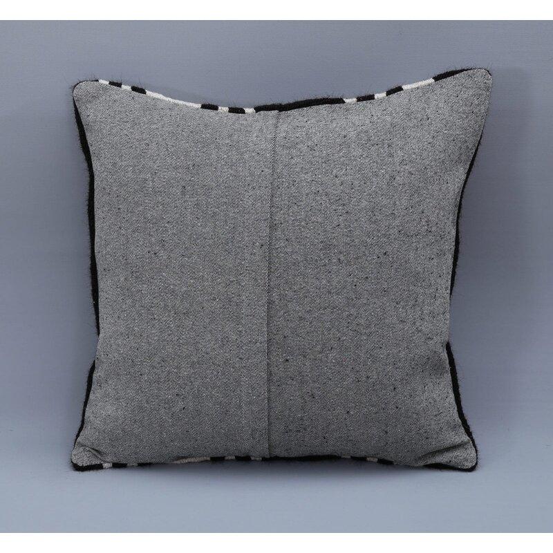Latitude Run Bernardez Square Wool Pillow Cover And Insert Wayfair Ca