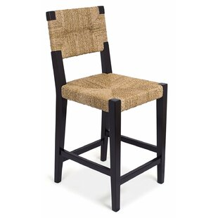 Rush Weave 24 Counter Height Bar Stool by BirdRock Home
