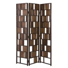 71 x 47.5 3 Panel Room Divider by Brayden Studio