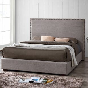 Benjamin Queen Upholstered Platform Bed by Omax Decor
