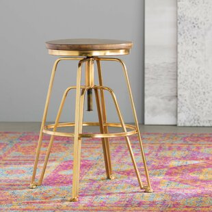 Mistana Maureen Adjustable Height Bar Stool