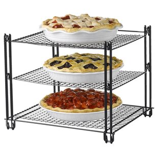 Nonstick Steel Baker's Rack by Nifty Home Products