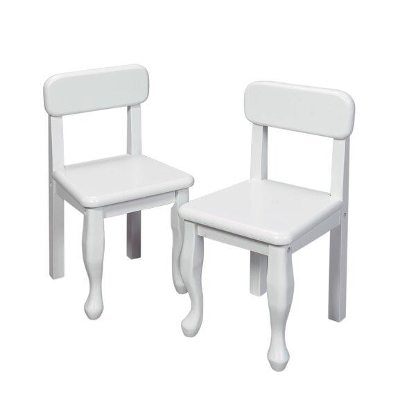 gift mark queen anne child s desk chair reviews wayfair