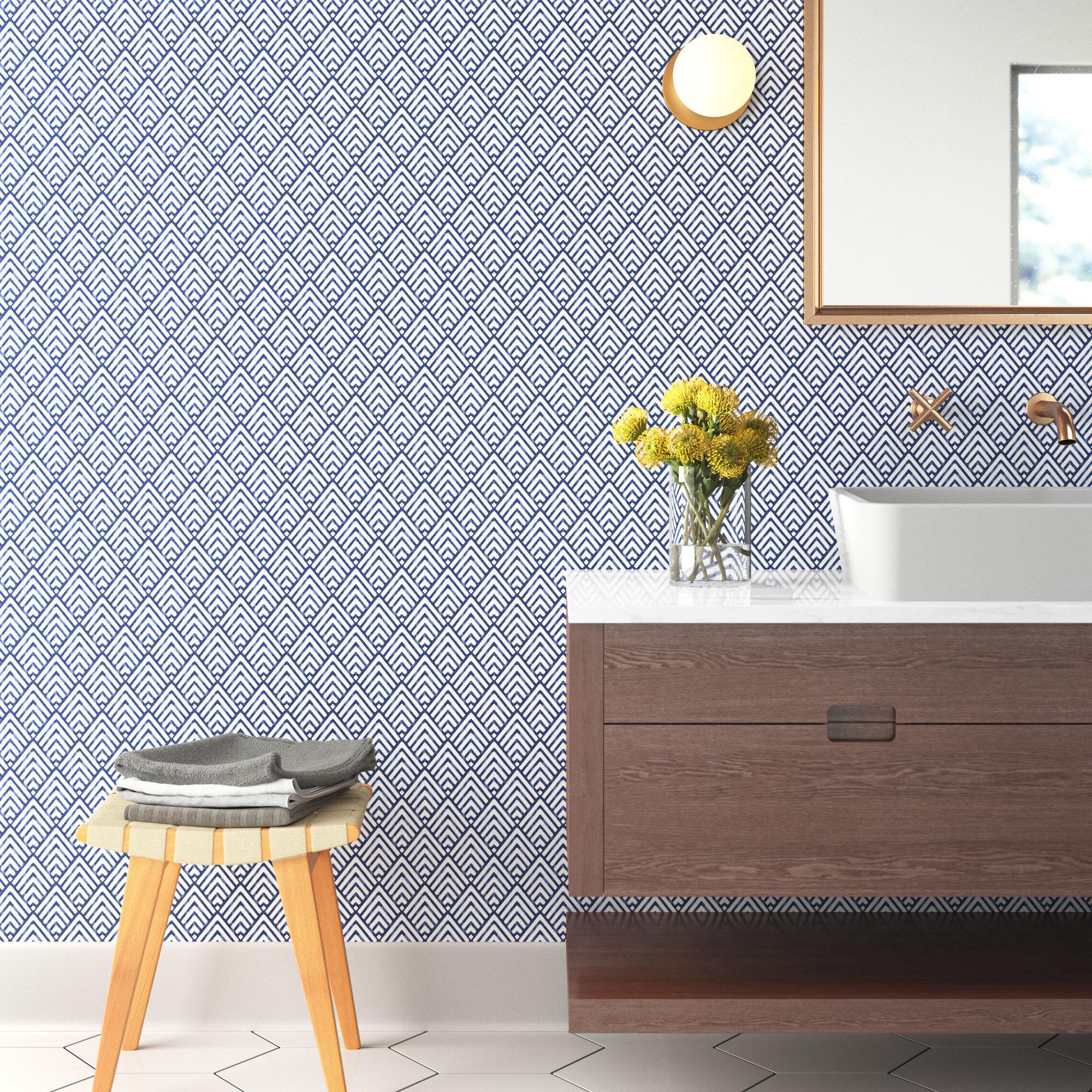 niebrara 18 x 205 smooth peel and stick wallpaper roll