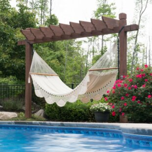 Oxfordshire Handwoven Double Tree Hammock by Freeport Park
