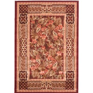Messina Dark Red Area Rug