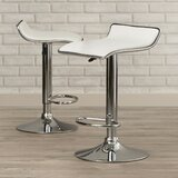 Renea Adjustable Height Bar Stool (Set of 2) by Ebern Designs