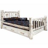 Antigo Full Storage Platform Bed by Millwood Pines