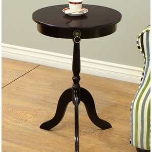 Craigmore Pedestal End Table by Rosalind Wheeler