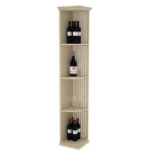 Prestige Series Lattice Quarter Round 4 Bottle Floor Wine Bottle Rack by Wineracks.com