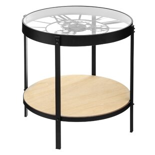 Backman Meca Clock Coffee Table By Williston Forge