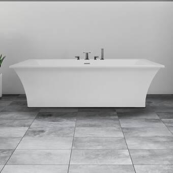 Hydro Systems Chagall 72 X 38 Freestanding Soaking Bathtub Wayfair