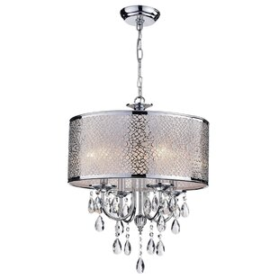 House of Hampton Mcmeans 4-Light Chandelier