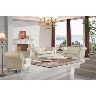 3 Piece Living Room Set by Noci Design