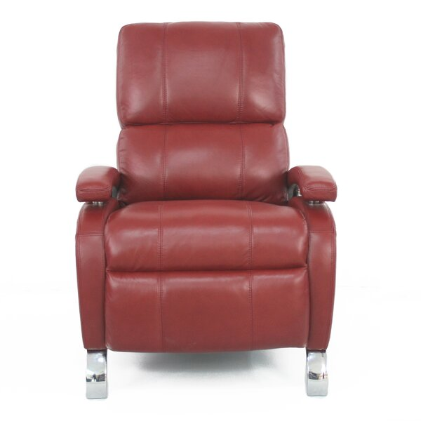 Barcalounger Oracle Ll Leather Recliner Amp Reviews Wayfair