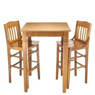Kershaw 3 Piece Pub Table Set