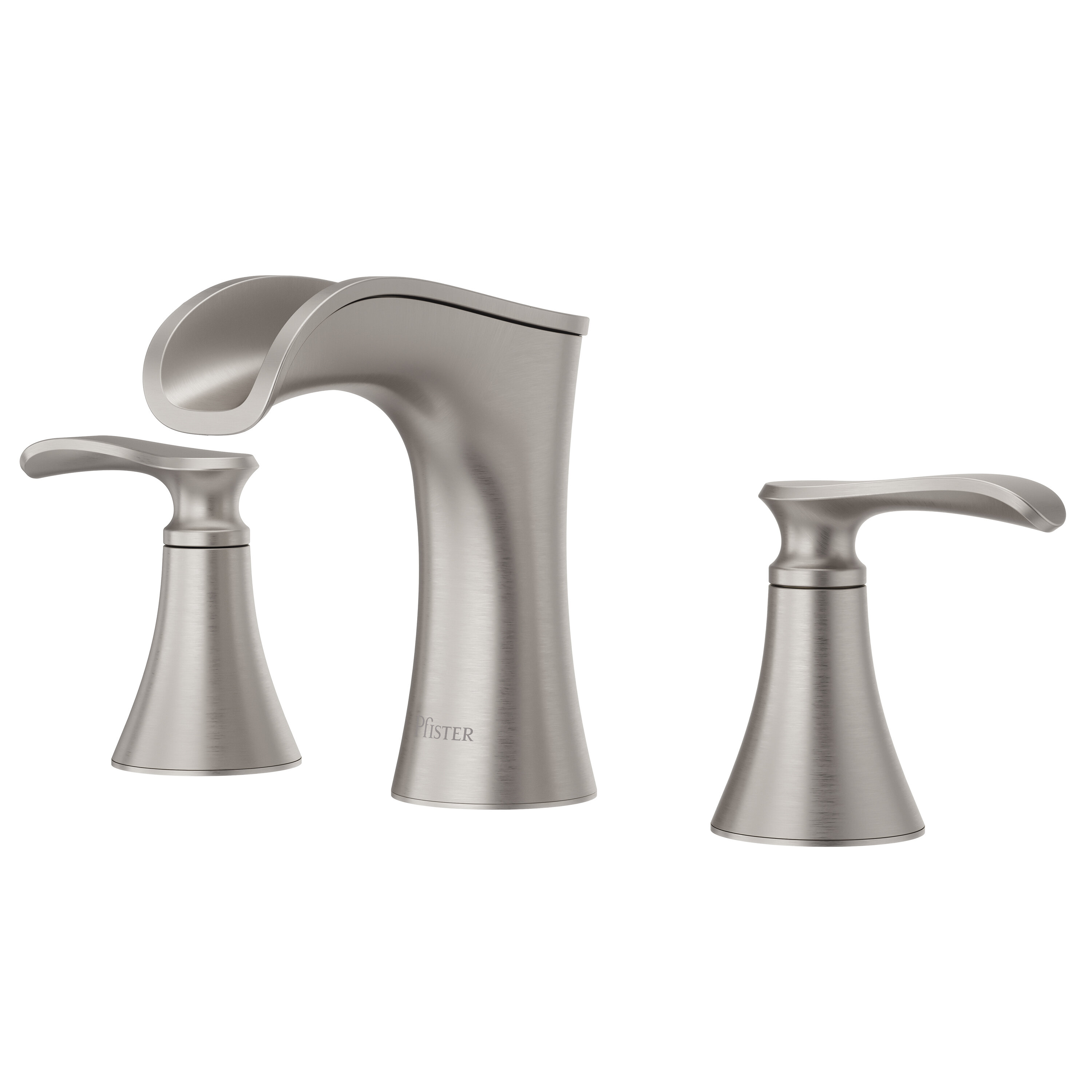 Find the Perfect Waterfall Spout Bathroom Sink Faucets | Wayfair Style Waterfall Faucet Modern Bathroom Design on tile bathroom modern, wall mount bathroom faucet modern, waterfall countertops modern,