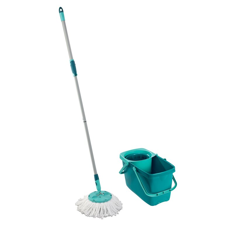 Clean+Twist+Mop+Bucket++with+Spin+Bucket