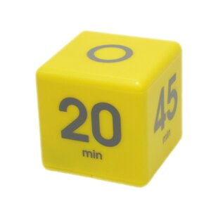 5-10-20-45 Minute Preset Cube Timer