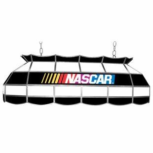 Trademark Global NASCAR 3-Light Pool Table Light
