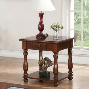 Rumsey Excellently End Table by Charlton Home