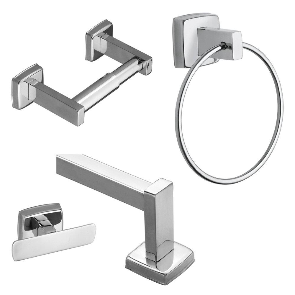 Stainless Steel 10 Piece Bathroom Hardware Set