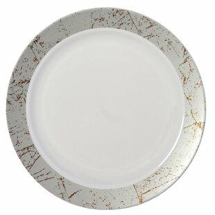 Save  sc 1 st  Wayfair & Silver Trim Plastic Plates   Wayfair