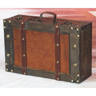 Williston Forge Dodson Suitcase Trunk