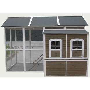 Coops & Feathers Chicken Coop With Chicken Run By Innovation Pet