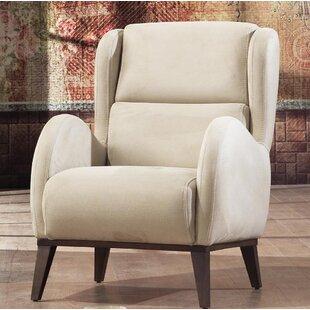 Brayden Studio Danos Wingback Chair