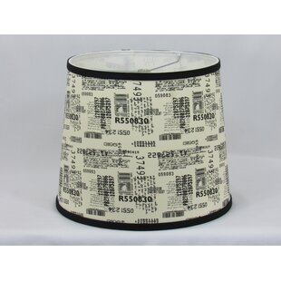 Barcode Cotton Drum Lamp Shade