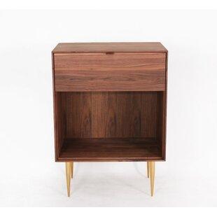 Organic Modernism Sophia 1 Drawer Nightstand