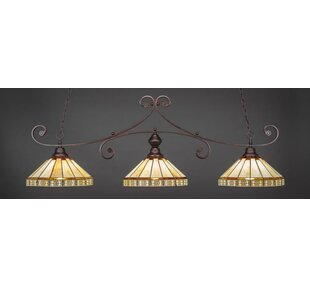 Astoria Grand Copeland 3-Light Kitchen Island Pendant