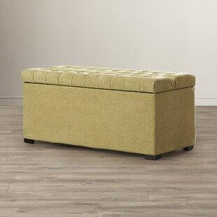 Cedarvale Upholstered Storage Bench by Red Barrel Studio