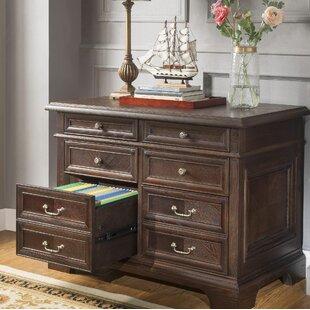 Ockton Executive 2 Drawer Lateral Filing Cabinet (Set of 4)