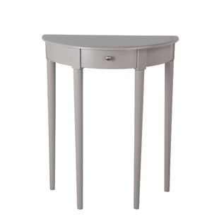 Slak Solid Wood Console Table By Winston Porter