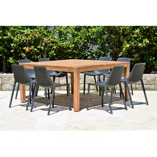 Claudio 9 Piece Teak Dining Set
